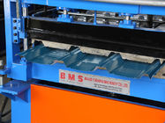 Durable Metal Iron Roofing Sheet Roll Forming Machine For Colored Steel Use