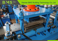 2.7 3.0mm Thick Highway Guardrail Roll Forming Machine With Auto Punching Hole System