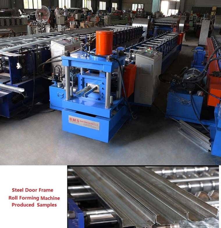 Efficient Steel Door Frame Roll Forming Machine 20 Station High Performance