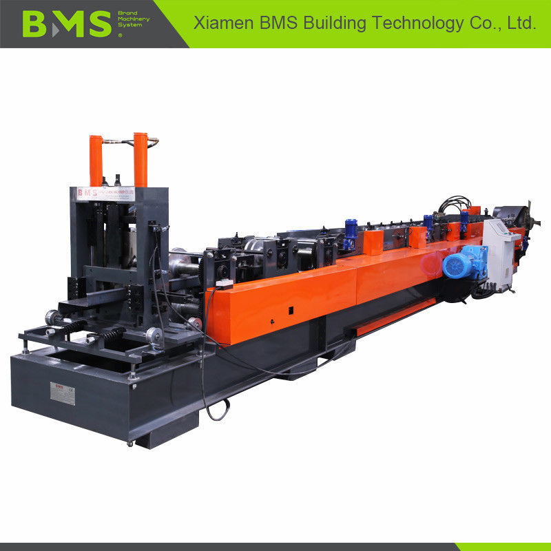 16 Forming Station CZ Purlin Roll Forming Machine / Steel Frame Making Machine