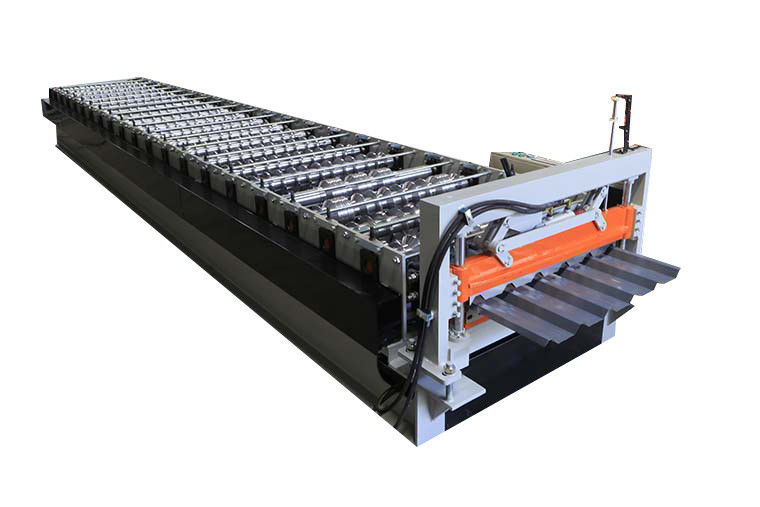 High Speed Roof Panel Roll Forming Machine For Thickness 0.3-0.8mm Material