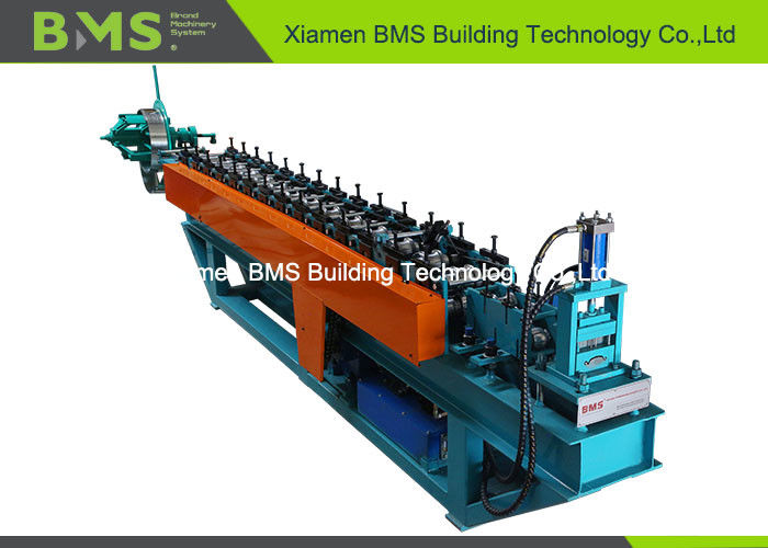 SD17.5-80 Feeding Width 134mm Rolling Shutter Door Roll Forming Machine SGS / CE / ISO9001