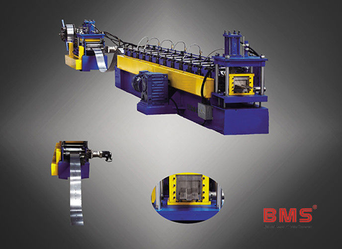 PLC Control System Solar Bracket Roll Forming Machine 0.7 - 1.2mm Thickness