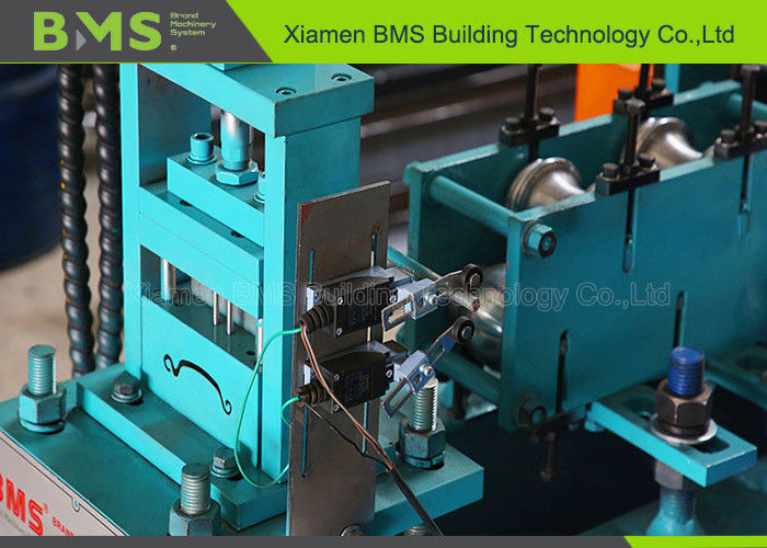 Full Automatic Roller Shutter Door Roll Forming Machine With Hydraulic Cutter