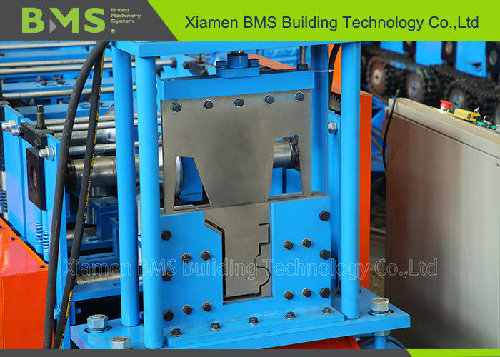 Metal Water Gutter Roll Forming Machine For Rainwater System With Security Cover